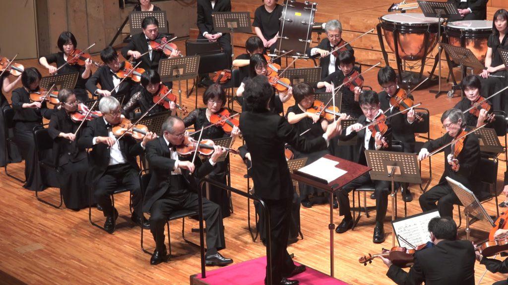 牛山さんが志音会コンサートマスターを務めた最後のステージ 2018年5月20日志音会オーケストラ第6回定期演奏会