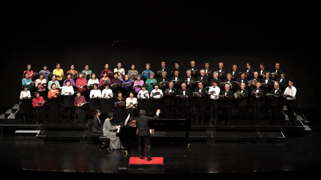 混声合唱組曲「武蔵野」のステージ写真